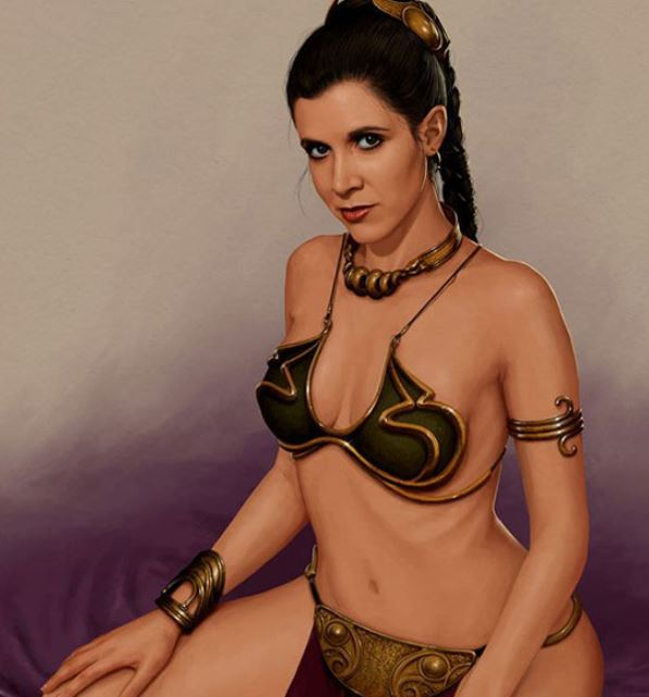 sexy naked star wars babes