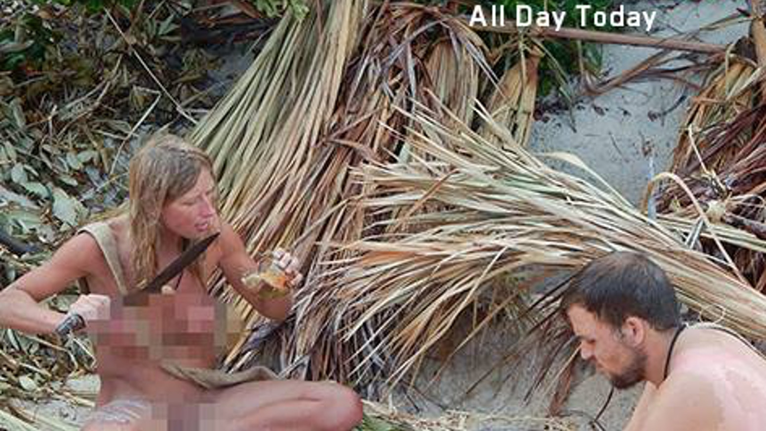 naked and afraid without the blur