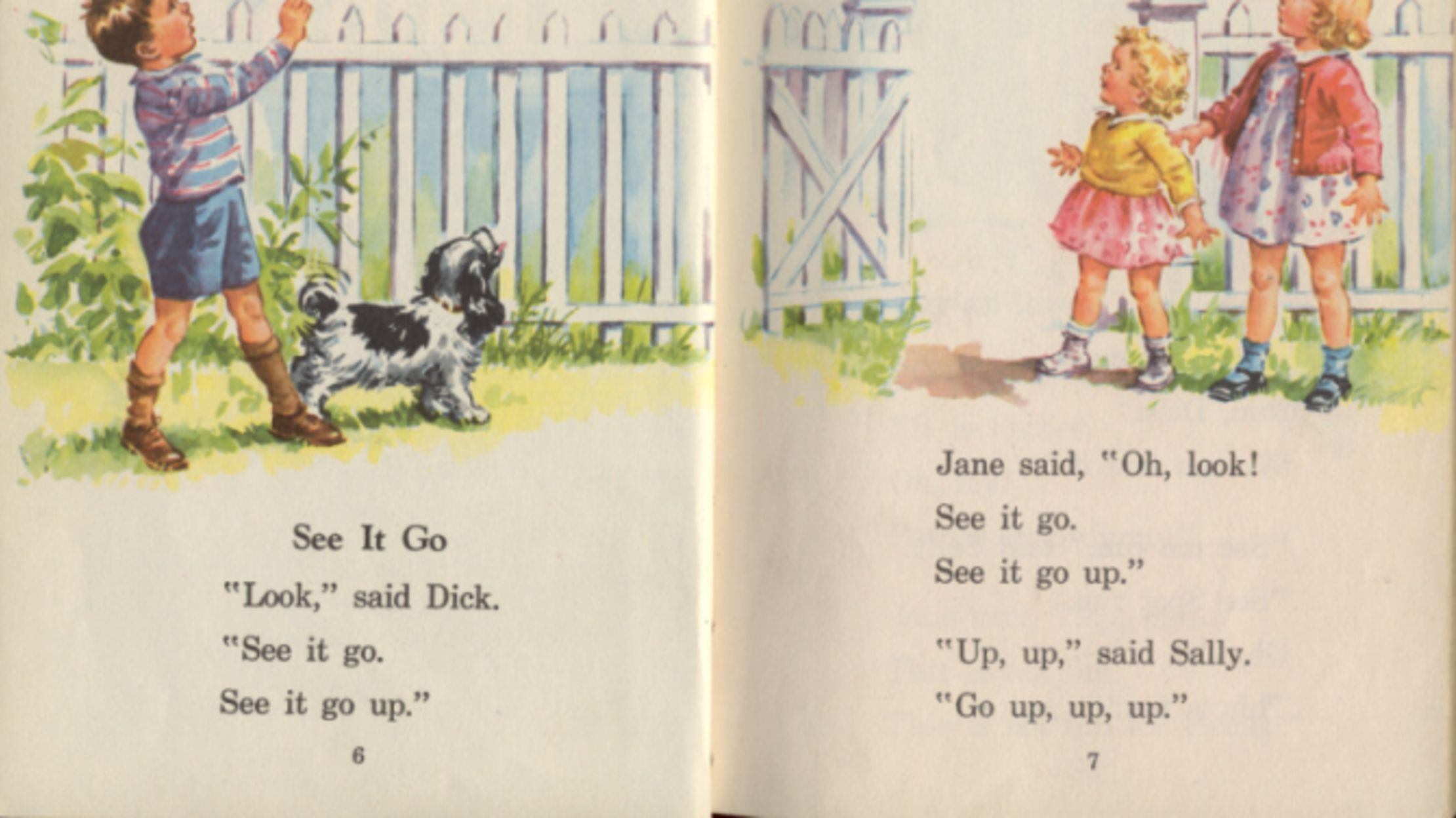dick and jane series