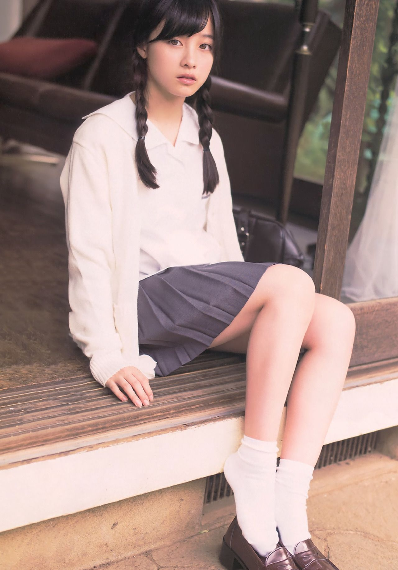 young japanese uniform nude
